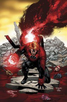 Red Lantern Guy Gardner vs World War Hulk. Red Lantern Corps, Green Lantern Sinestro, World War Hulk, Nightwing And Starfire, Batman, Superman, Dc Comics Characters, Book Characters, Weird Science