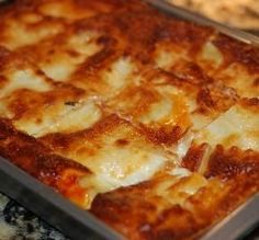 """Absolute Best Ever Lasagna: """"Truly outstanding. The combination of ground beef and Italian sausage in the sauce is the key."""" -Laylagirl"""