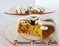 Fragrant Vanilla Cake: Raw Carrot Cake Doughnuts