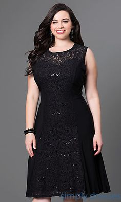 Plus-Sized Formal Dresses, Plus Cocktail Dresses - SimplyDresses : Plus Size Formal Prom Dresses, Evening Gowns Plus Size Formal Dresses, Plus Size Cocktail Dresses, Different Dresses, Plus Size Outfits, Casual Dresses, Fashion Dresses, Tunic Dresses, Formal Gowns, Mein Style