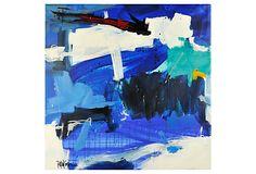 Blues Square by Robbie Kemper on OneKingsLane.com