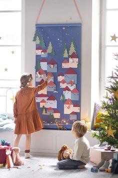 Advent Calenders, Diy Advent Calendar, Countdown Calendar, Christmas Time, Christmas Crafts, Xmas, Christmas Ideas, Decoration Creche, Santa Claus Is Coming To Town