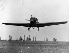 Junkers F.13 with Hester as pilot, Mercury Field by San Diego Air & Space Museum Archives, via Flickr