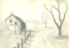 Nature Drawing - Landscape and wildlife drawing . Here are some ...