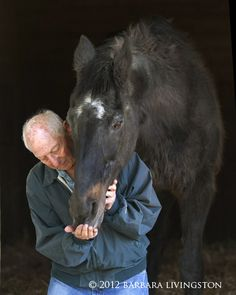 A beautiful story of the relationship of these two old men <3 Lord Avie, 34 y/o winner of the 1981 Kentucky Derby & his trainer Danny Perlsweig