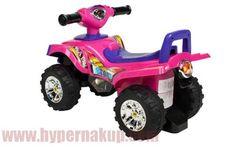 Štvorkolka detské odrážadlo ružová Monster Trucks, Toys, Dinner, Activity Toys, Clearance Toys, Gaming, Games, Toy, Beanie Boos