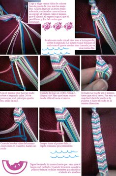 DIY: pulseras de hilo