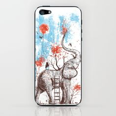 A Happy Place iPhone & iPod Skin by Norman Duenas - $15.00