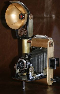 "Steampunk - Steampunk vintage webcam ""The Cineomatic"" by steampunkable"