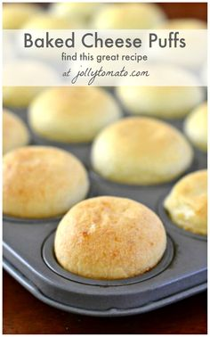 Easy gluten-free Brazilian cheese puffs made with Cacique Queso Fresco