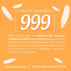 Angel Number What Does 999 Mean? 999 calls for you to embrace the changes happening within and around you so you can get to work on your life purpose. This is also a sign that you are a lightworker and that it's time to take steps to live in alignment Angel Number Meanings, Angel Numbers, Spiritual Guidance, Spiritual Awakening, Spiritual Reality, Spiritual Beliefs, Spiritual Symbols, Lei Do Karma, Reiki