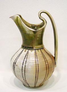 lorna meaden ceramic pitcher