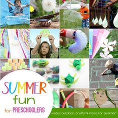 So Much Fun! Summer Activities for Preschoolers