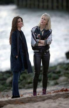 Cate Blanchett and Sandra Bullock Ocean's Eight November 16,2016