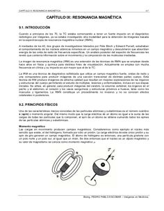Teoria sobre la resonancia, antenas, apantallamientos, tipos de imanes,...