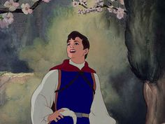 Screencap Gallery for Snow White and the Seven Dwarfs Bluray, Disney Classics). A beautiful girl, Snow White, takes refuge in the forest in the house of seven dwarfs to hide from her stepmother, the wicked Queen. Disney Men, Disney Love, Disney Magic, Disney Stuff, Snow White Prince, Walt Disney Characters, Disney Princesses, Seven Dwarfs, The Seven