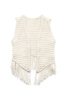 Free Spirit Fringed Vest | FOREVER21 would look great with summer dresses