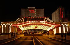 Circus Circus Hotel & Casino is home to the Adventuredome, America's largest indoor theme park.
