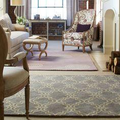 Capel Rugs Charisma Tile Grey Wool Rug #laylagrayce