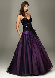 SALE! 2011 Prom Dresses! Evenings By Allure-Beaded Lace Ball Gown With Scalloped Neckline- Size 0-18