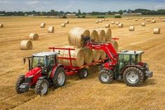Massey Ferguson stellt Allroundtraktor mit 95 PS und FieldStar vor - Everything you need to know about farming Tractor Drawing, Tractor Machine, Future Farms, Engin, Hay Bales, Agriculture, Farming, John Deere Tractors, Country Farm