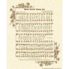 How Great Thou Art originally by Carl Gustav Boberg