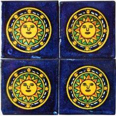 Sol Azteca Azul