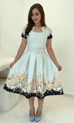 Swans Style is the top online fashion store for women. Shop sexy club dresses, jeans, shoes, bodysuits, skirts and more. Modest Dresses, Pretty Dresses, Prom Dresses, Skirt Outfits, Dress Skirt, Dress Up, Vintage Inspired Dresses, Vintage Dresses, Modest Fashion
