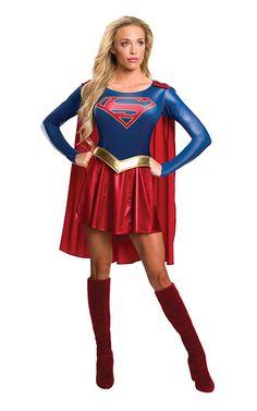 Supergirl TV Series Costume Dress Adult