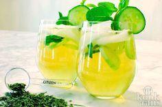 Elderflower and Citrus Sangria Smoothie Drinks, Detox Drinks, Smoothies, Yummy Drinks, Healthy Drinks, Veggie Recipes, Diet Recipes, Detox Shakes, Healthy Recepies