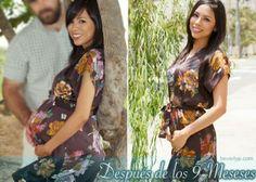 Beverly: Mi cuerpo después de los 9 meses - embarazo - pregnant