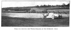 Webb Jay at Morris Park (New York)   First Super Speedway