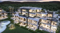 LUXURY APARTMENT RESORT From 215,000€!!!  Extraordinary Real Estate Investment product: 276 Luxury Apartments For Sale in Estepona, La Costa del Sol By Nok.