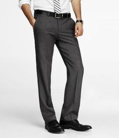 MICRO TWILL PHOTOGRAPHER SUIT PANT at Express $128
