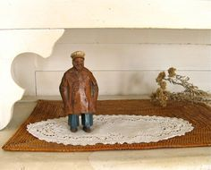 Old Salt  Vintage Nautical Figure  Rustic Statue  Sea by Anidar, $19.00