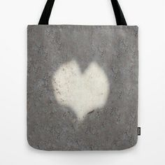heart on sand Tote Bag