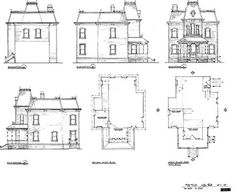 1000 images about hitchcock on pinterest anthony for Norman bates house floor plan