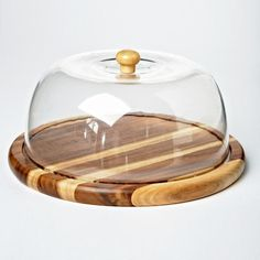 Whole Home®/MD Acacia Wood Cheese Board with Dome