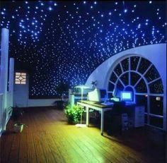 Study room starry night