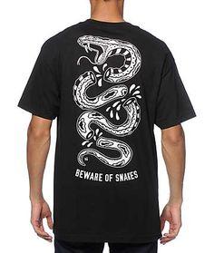 Sketchy Tank Snakes camiseta