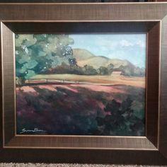oil on panel, plein air, Washington Fields, Utah By Susan Grove Fields, Utah, Art Work, Washington, Oil, Fine Art, Painting, Artwork, Work Of Art