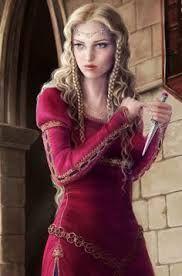 cool medieval girl