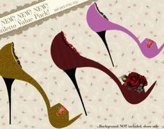 Funky High Heel Clip Art | Clipart Stiletto, Shoe Clipart, Hig h Heel Clipart, Clip Art ...