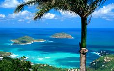 Balmy island of St. Thomas