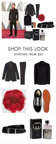 Red Carpet Jared by tomhardjaredyesra on Polyvore featuring Topman, Gucci, Vans, Tod's, jared, men's fashion and menswear