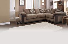 Left Hand Facing 2 Seater Pillow Back Corner Sofa Eternal | DFS