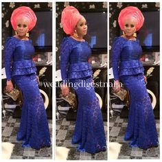 You Need To Have A Look At Our Modish, Swanky & Dashing Aso-Ebi Styles - Wedding Digest Naija