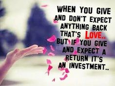Love or investment?