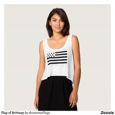 Flag of Brittany Tank Top