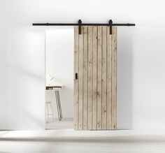 This cheap interior barn doors is truly a powerful style conception. Doors Interior, Home Decor Inspiration, Bathroom Interior, House Interior, House, Home, Interior, Interior Barn Doors, Home Decor